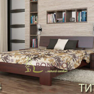 Букове ліжко Титан