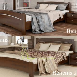 Букове ліжко Венеція Люкс